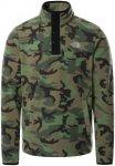 The North Face Herren Fleecepullover HOMESAFE SNAP NECK FLEECE, camouflage, Gr.