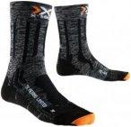"X-Socks Wander- / Trekkingsocken ""X-Socks Trekking Merino Limited"", grau/schwarz"