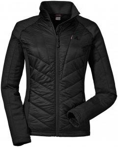 """Schöffel Damen Outdoorjacke """"Hybrid Jacket Nagano"""", schwarz, Gr. 44"""