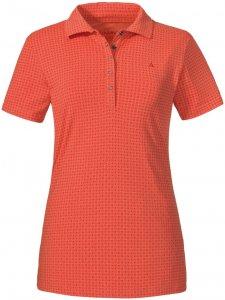 """Schöffel Damen Poloshirt """"Altenberg1"""", orange, Gr. 48"""