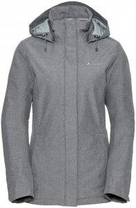 "VAUDE Damen Winterjacke mit Kapuze ""Women's Limford Jacket II"", hellgrau, Gr. 38"