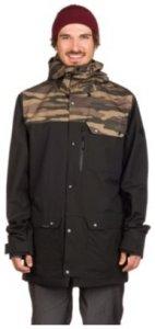 Dakine Wyeast Jacket black / field camo Gr. S