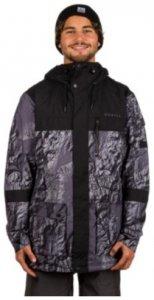 O'Neill Bearded Hybrid Jacket black aop Gr. M