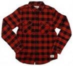 Billabong All Day Flannel Shirt LS Boys brick Gr. T10