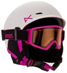 Anon Define Helmet Girls white / pink eu Gr. LXL