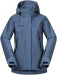 Bergans Ervik Insulated Jacket fogblue / dk navy Gr. 140