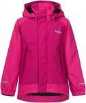 Bergans Knatten Jacket Girls hot pink / cerise / deep turq Gr. 116