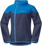 Bergans Ruffen Fleece Jacket navy / athensblue / polarblue Gr. 98