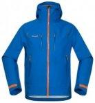 Bergans Storen Jacket athensblue / ocean / pumpkin Gr. XL