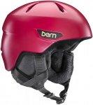 Bern Bristow Helmet satin cranberry red Gr. XSS