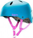 Bern Diablo EPS Snowboard Helmet satin cyan Gr. L