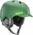 Bern Watts EPS Helmet matte leaf green Gr. LXL