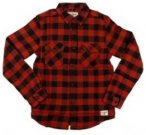 Billabong All Day Flannel Shirt LS Boys brick Gr. T10