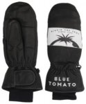 Blue Tomato Leather Mittens black Gr. M