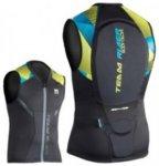 Body Glove Team Rider Vest black / lime / baby blue Gr. M