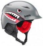 Bern Camino Snowboard Helmet Youth Youth satin grey flying tiger Gr. SM