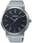 Casio LTP-E118D-1AEF silver / black Gr. Uni