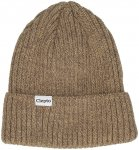 Cleptomanicx Hafen BiColor Beanie bone brown Gr. Uni