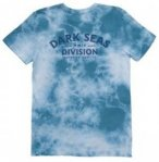 Dark Seas Swell Tie Dye T-Shirt mineralblue / crystalwash Gr. S