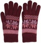 Empyre Sasha Gloves burgundy / pink Gr. Uni
