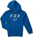 Fox Legacy Moth Zip Hoodie royale blue Gr. M