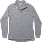 Houdini Wooler Halfzip Fleece Jacket college grey / haze Gr. S