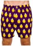 Lousy Livin Zitrone Boxershorts purple Gr. S