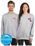 Love No Matter What Sweater grey Gr. L