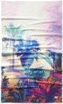 O'Neill Beach Towel white aop w / pink / purple Gr. Uni