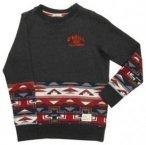O'Neill Cali Sweater Boys grey aop w /  red Gr. 140