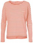 O'Neill Essentials Striped T-Shirt LS white aop w / pink / purple Gr. L