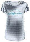 O'Neill Stripe Script T-Shirt white aop w /  blue Gr. S