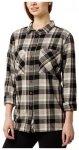 O'Neill Traveller Shirt LS black aop w /  white Gr. M