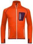 Ortovox Fleece Jacket crazy orange Gr. XXL