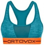 Ortovox Merino 185 Rock'n'Wool Sport Top aqua blend Gr. L