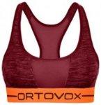 Ortovox Merino 185 Rock'n'Wool Sport Top dark blood blend Gr. L