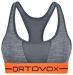 Ortovox Merino 185 Rock'n'Wool Sport Top dark grey blend Gr. L