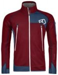 Ortovox Plus Fleece Jacket dark blood Gr. XL