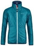 Ortovox Swisswool Piz Bial Fleece Jacket aqua blend Gr. M