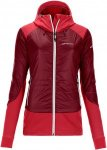 Ortovox Swisswool Piz Palü Softshell dark blood Gr. XL