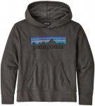 Patagonia LW Graphic Hoodie p6 logo forge grey Gr. XL