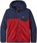 Patagonia Micro D Snap-T Fleece Jacket fire Gr. S