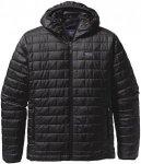 Patagonia Nano Puff Hooded Jacket black Gr. L