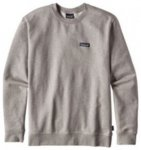 Patagonia P-6 Label MW Crew Sweater feather grey Gr. XL
