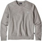 Patagonia Pastel P-6 Label Ahnya Crew Sweater drifter grey Gr. L