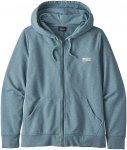Patagonia Pastel P-6 Label Ahnya Full Zip Hoodie berlin blue Gr. XS