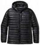 Patagonia Ultralight Down Hooded Outdoor Jacket black Gr. XL