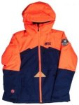 Picture August Jacket Girls a coral / dark blue Gr. T12