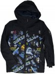 Quiksilver Mission Block Jacket black / a night at the moun Gr. T12