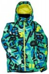 Quiksilver Mission Printed Jacket Boys arkaid green Gr. T16